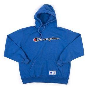 Champion Authentic logo hoodie sweatshirt XL